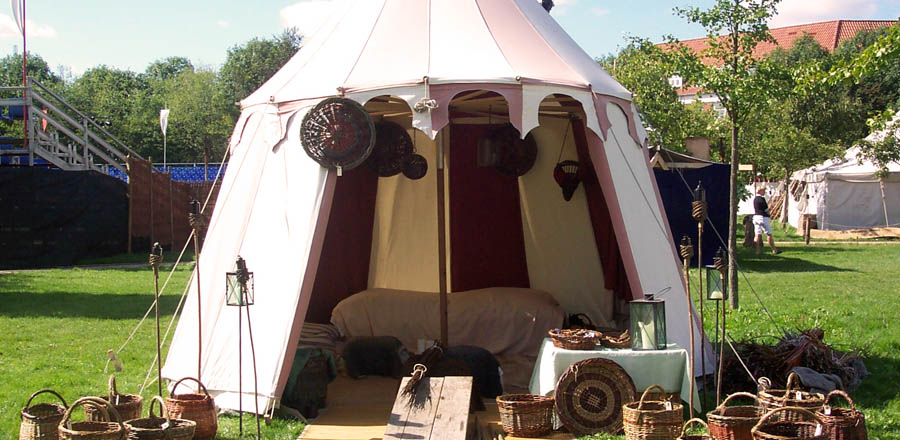 Custom ... & Past Tents