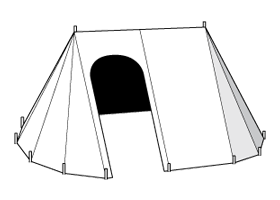 15th Century Campaign Tent