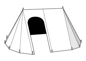 15th Century Campaign Tent