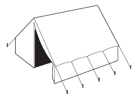 17th-19th Century Wall Tent