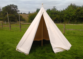 17th Century Bell Tent