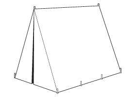 17th Century Wedge Tent